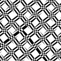 Muster schwarz weiß Nr. 4 by Christine Bässler