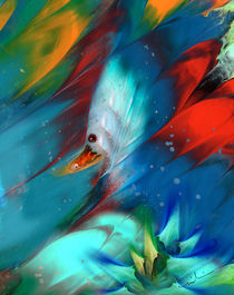 King Of The Swans von Miki de Goodaboom
