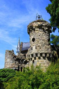 Der Glockenturm von der Löwenburg von Bernhard Kaiser