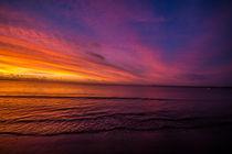 Sunset at Fiji by Belinda Philipp