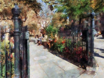 Manhattan NY - Abingdon Square Park Greenwich Village by Susan Savad