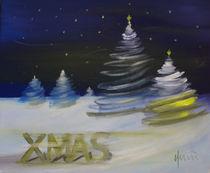 Merry Christmas von nicola-quici-kunst