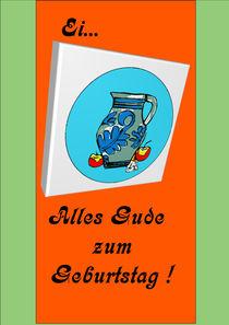 Geburtstagsbembel von Hans-Peter Scherbaum