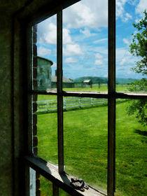 Farm Seen Through Window von Susan Savad