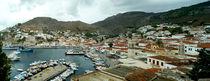 Hafenbucht der Insel Hydra von Sabine Radtke