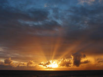Rays of the Sun at Dawn von Susan Savad