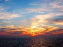 Sunrise at Sea by Susan Savad