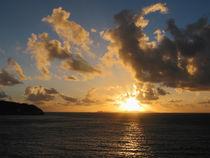Sunrise With Clouds St. Martin von Susan Savad