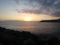 Sonnenuntergang auf Teneriffa 1 by Ivy Müller