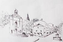 Dieulefit, prot. Kirche by Theodor Fischer