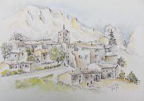 Dieulefit, Provence von Theodor Fischer