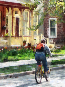 Lovely Spring Day for a Ride von Susan Savad