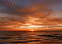 Sonnenaufgang an der Ostsee by Franziska Rullert