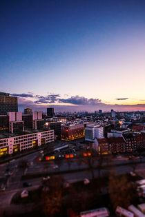 Über Hamburgs Dächern von Florian Kunde