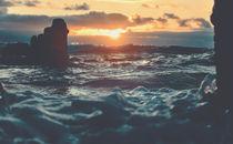 Wenn die Sonne das Meer küsst von Florian Kunde