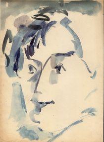Lady Blue by Ioana  Candea