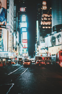 Times Square bei Nacht by Florian Kunde