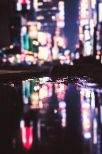 New York in der Pfütze von Florian Kunde