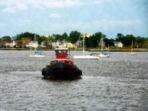 Norfolk VA - Tugboat Bow  von Susan Savad
