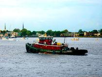 Tugboat Norfolk Virginia von Susan Savad