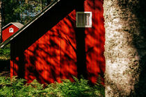 Red Cabins by David Pinzer
