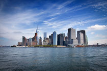 Manhattan Skyline by pixelkunst