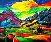 Sommer in den Bergen von Eberhard Schmidt-Dranske