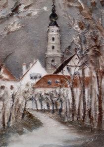 Winterliches Braunau von Chris Berger
