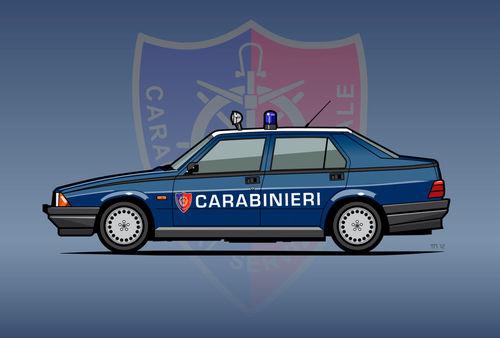 Illu-alfa-75-carabinieri-canvas