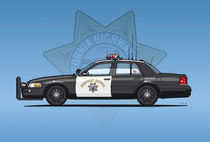 California Highway Patrol Ford Crown Victoria Police Interceptor by monkeycrisisonmars
