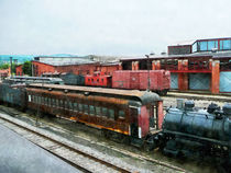 Old Train Yard by Susan Savad