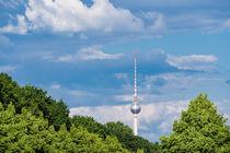 Der Berliner Fernsehturm by Rico Ködder