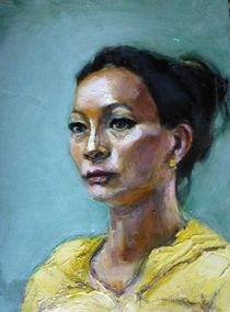 Young woman by Renuka Pillai