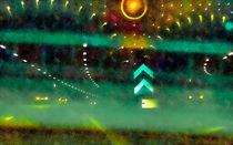 Cruising Underground von GabeZ Art