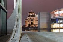 REICHSTAG IN BERLIN by Uwe Jäger