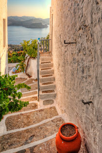 A house in Plaka of Milos, Greece by Constantinos Iliopoulos