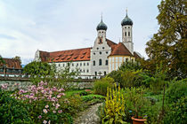 Klostergarten Benediktbeuern von Sabine Radtke