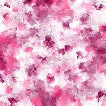 Kubismus pink von Christine Bässler