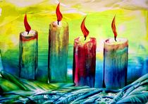 Kerzen (5) by megina-art