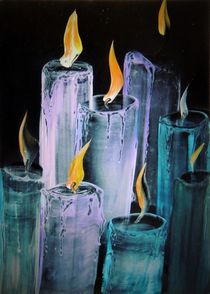 Kerzen (6) von megina-art