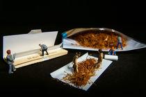 Zigarettenpause von Michael Kunz