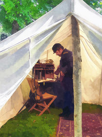 Army - Civil War Officer's Tent by Susan Savad