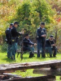 Group of Union Soldiers von Susan Savad