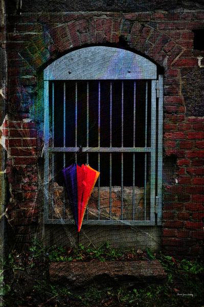 Hanging-umbrella-texture