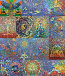 Yogapaintings - 2015 by karmym