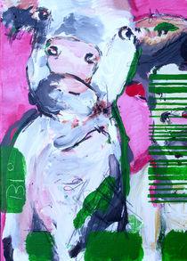 Biokuh in Pink by Stefanie Rogge