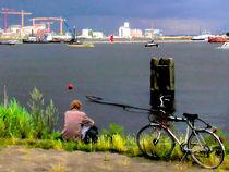 Bike Ride von GabeZ Art