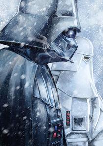 Darth Vader WInter by Tobias Goldschalt