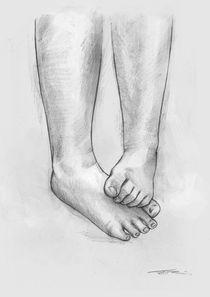 Füße 3 von Tobias Goldschalt