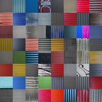 House wall patchwork Reykjavík No. 30 von Jürgen Weckler